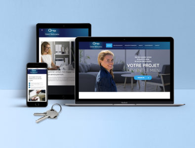 Site web Astrid Immo