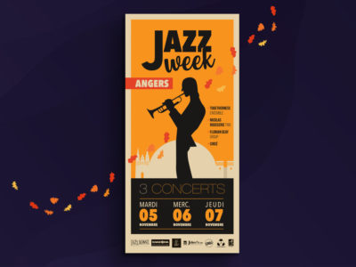 Flyer Jazz Week Angers